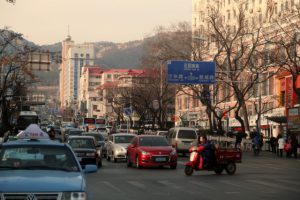 タクシー中国