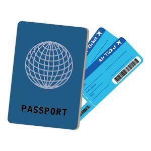 パスポート、チケット
